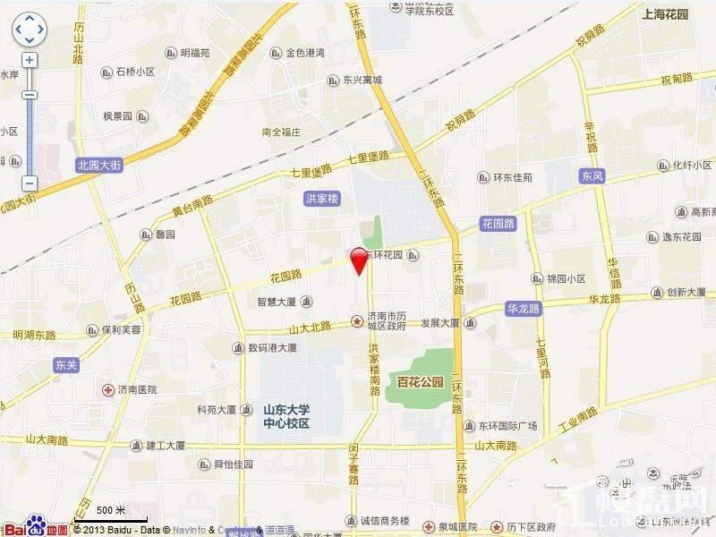 广厦·聚隆广场位置图