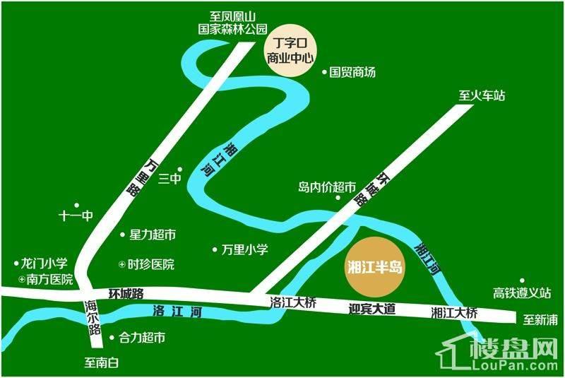 城投·湘江半岛效果图