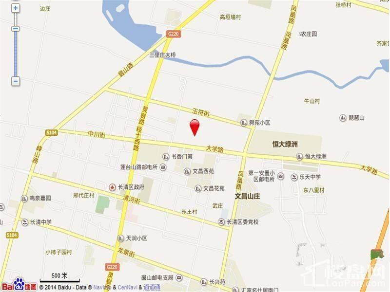 银丰公馆位置图