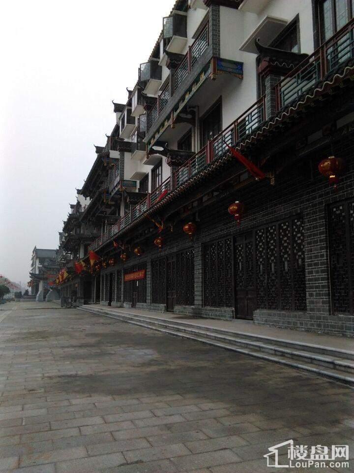 江南古城实景图