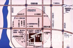 金威·英伦世家位置图
