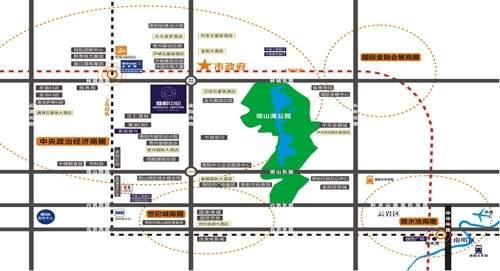 摩根中心商铺位置图