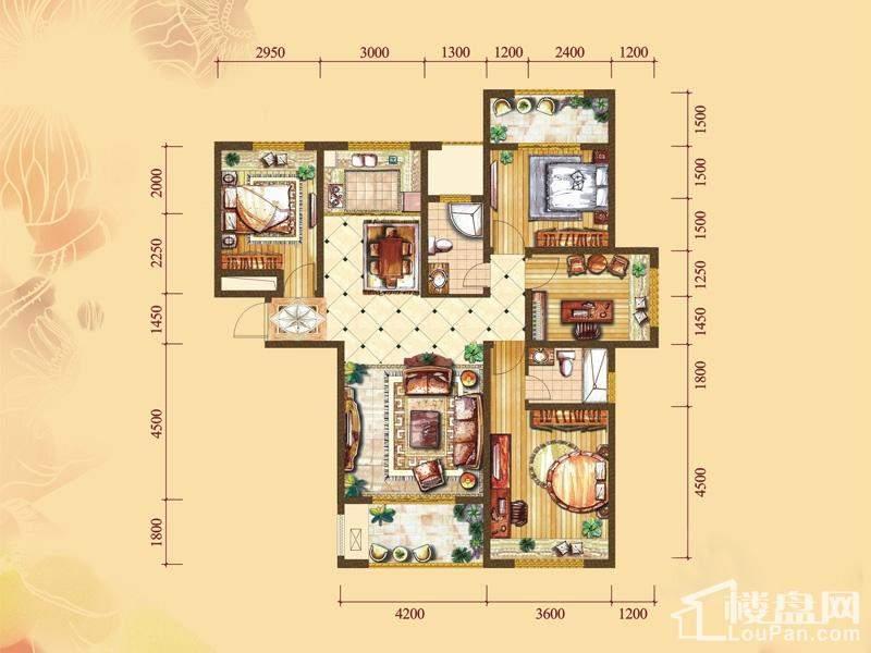 1#楼标准层A1户型[在售]