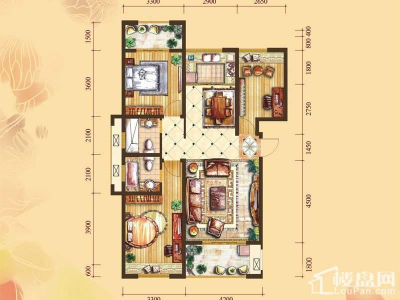 2#楼标准层D2户型[在售]