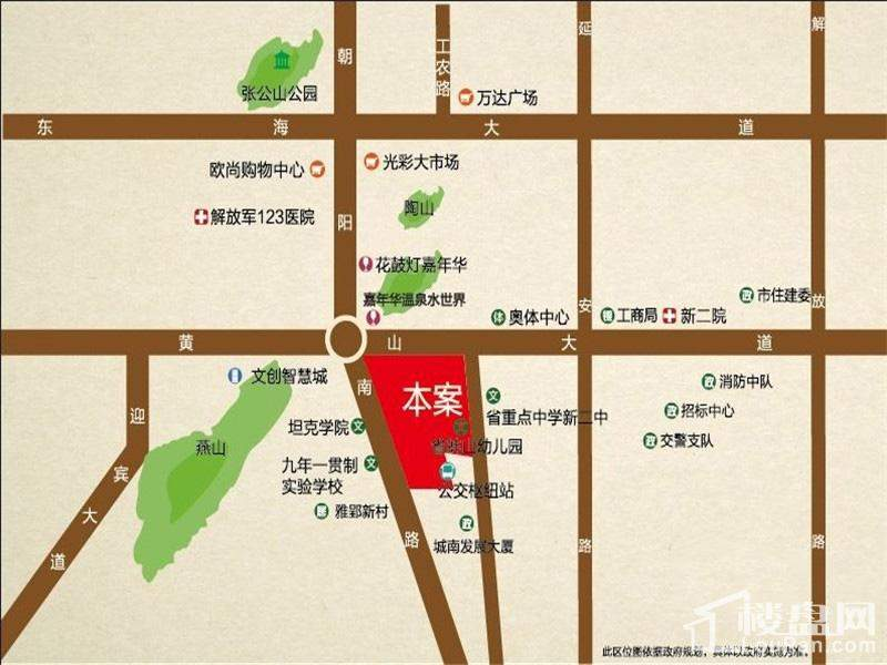 佳源东方都市位置图