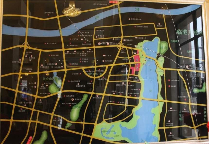 泷湖湾位置图