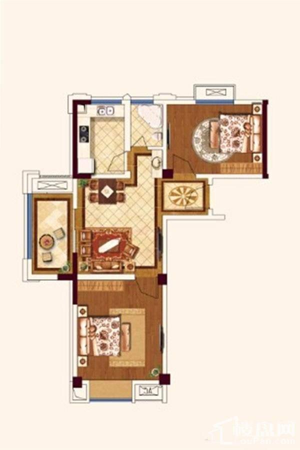 公寓D1户型[在售]