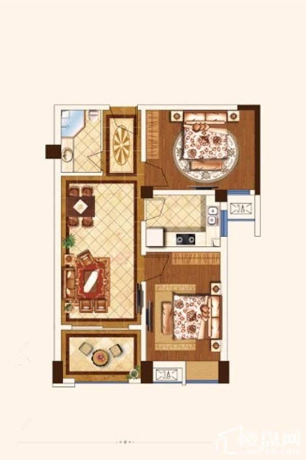 公寓D3户型[在售]