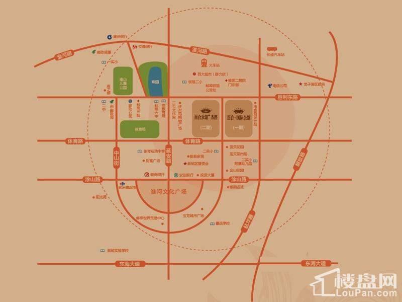 百合公馆杰座位置图