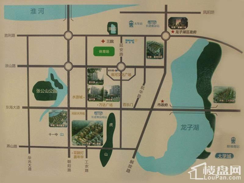 荣盛香榭兰庭位置图