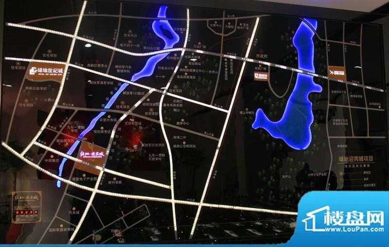 绿地迎宾城位置图