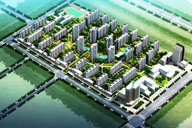 未来城项目(三期)实景图