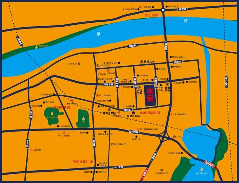 国祯广场位置图