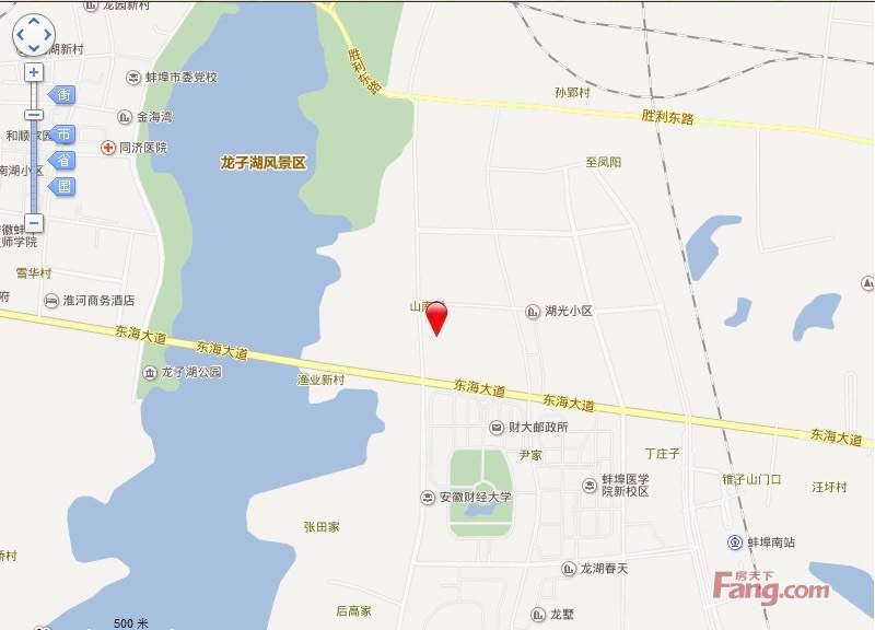 康恒滨湖蓝湾位置图