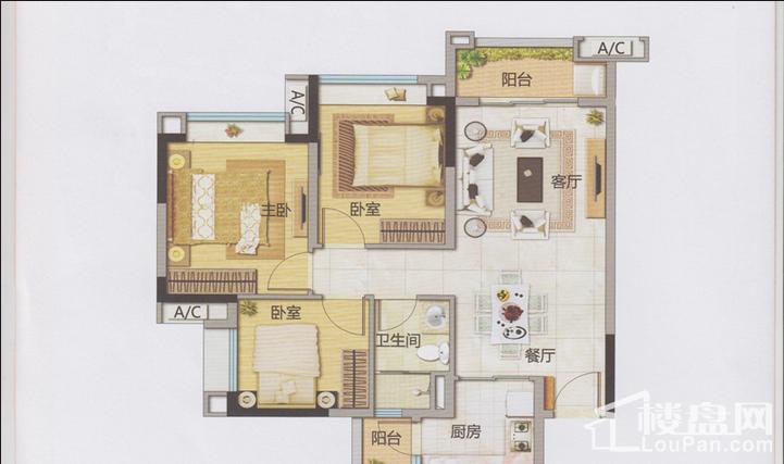 8栋四至十层03房
