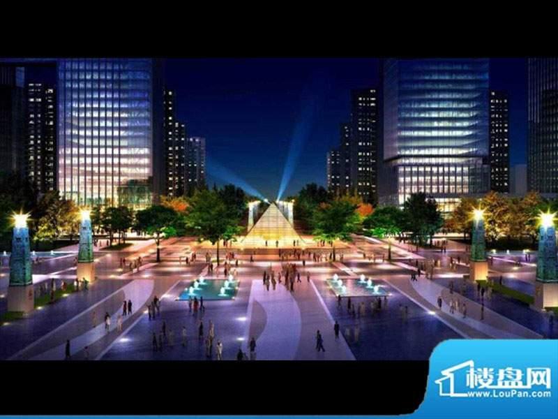 明珠广场凤凰城效果图