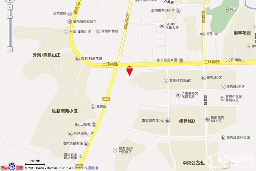 中国MALL·城市之星位置图