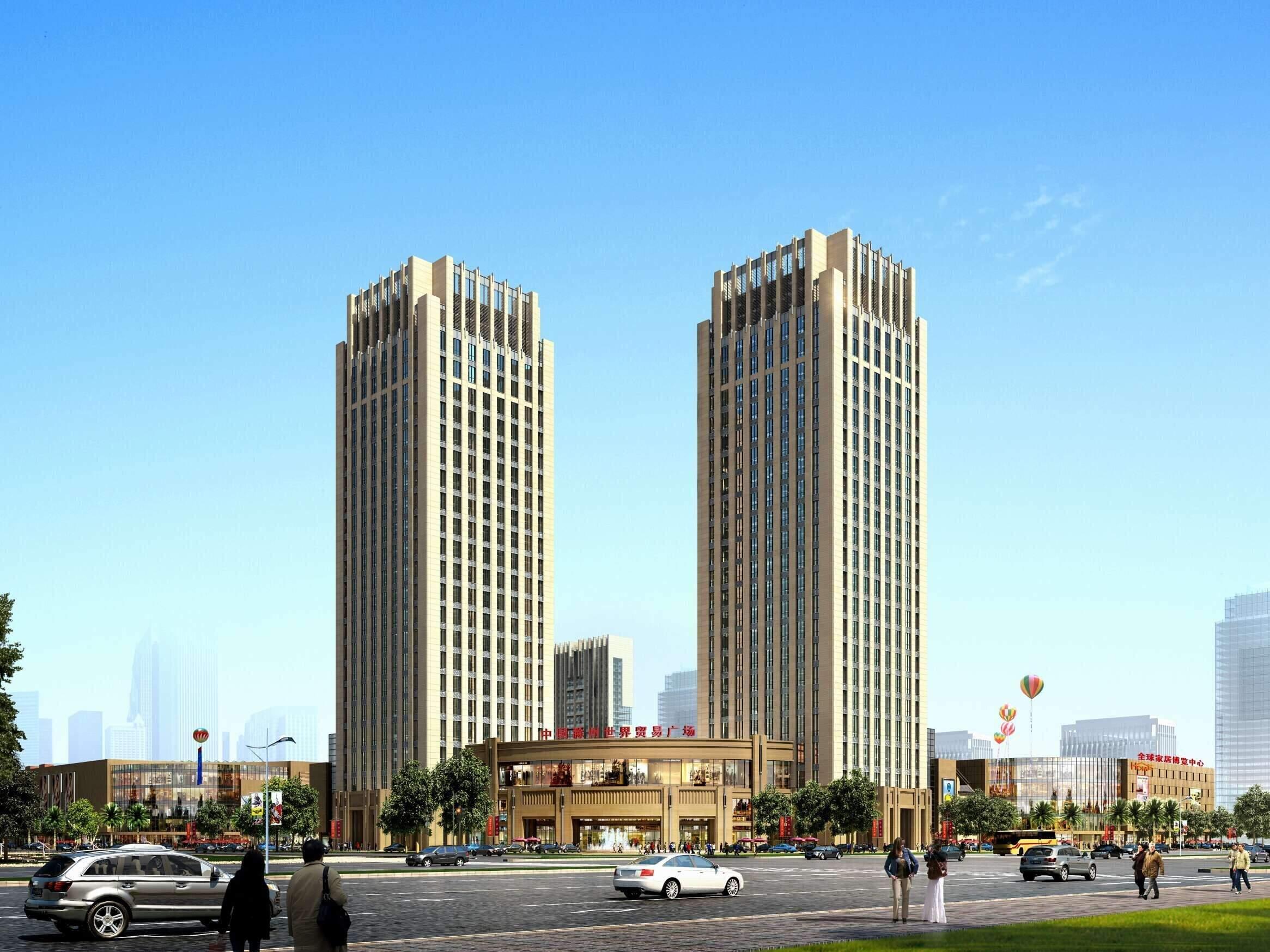 国金·滁州世界贸易广场效果图