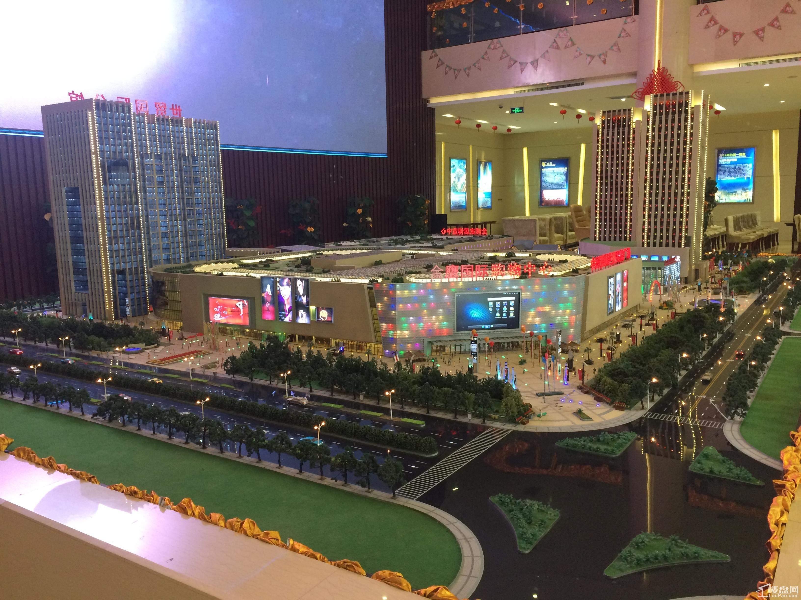 国金·滁州世界贸易广场实景图