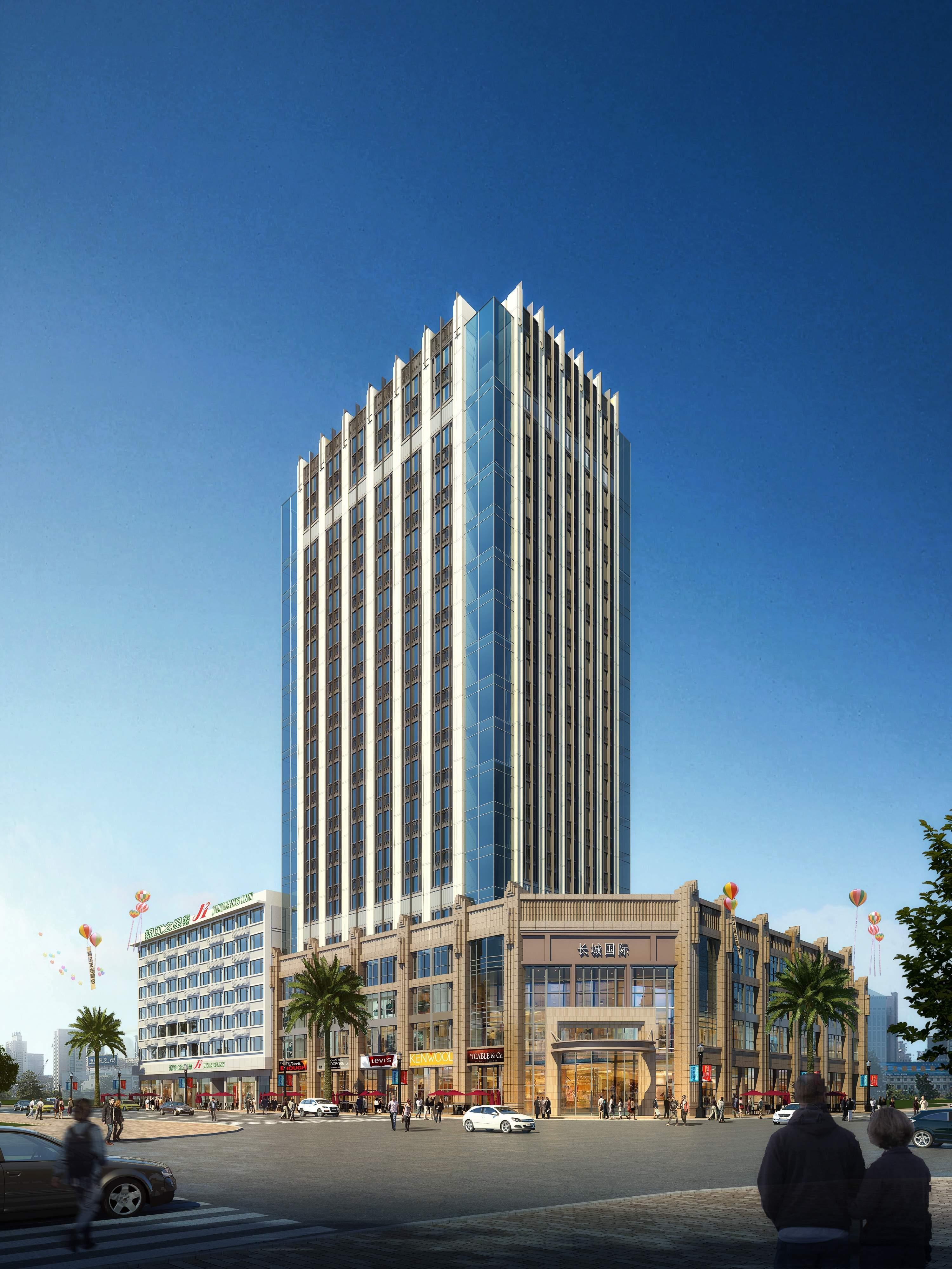 长城国际商业广场效果图
