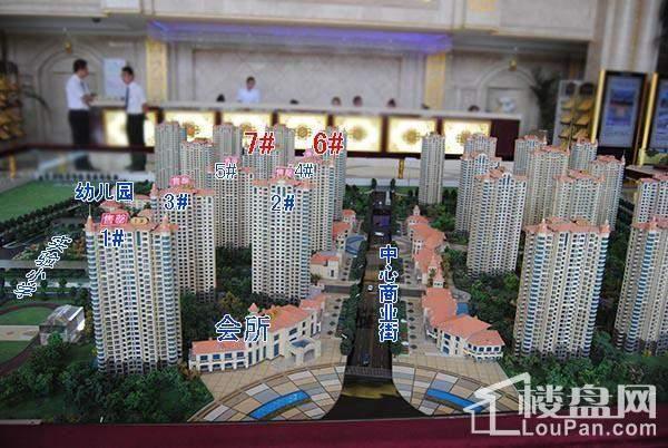 中南锦城实景图