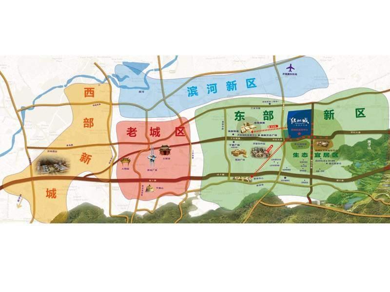 绿地城位置图