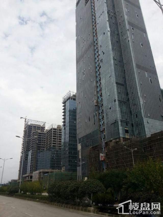 贵州金融城实景图
