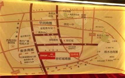 万科悦城位置图
