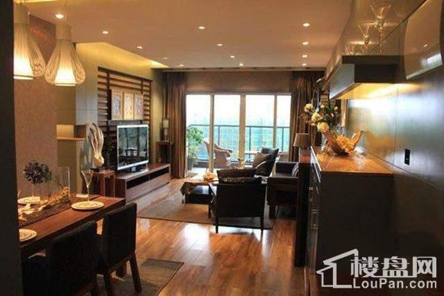 金龙星岛国际样板间2号楼B1户型客厅