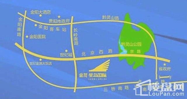 金龙星岛国际交通图区位示意图