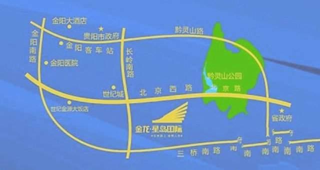 金龙星岛国际别墅位置图