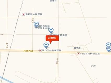 周口天明城位置图