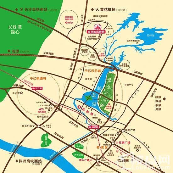 磐龙世纪城位置图
