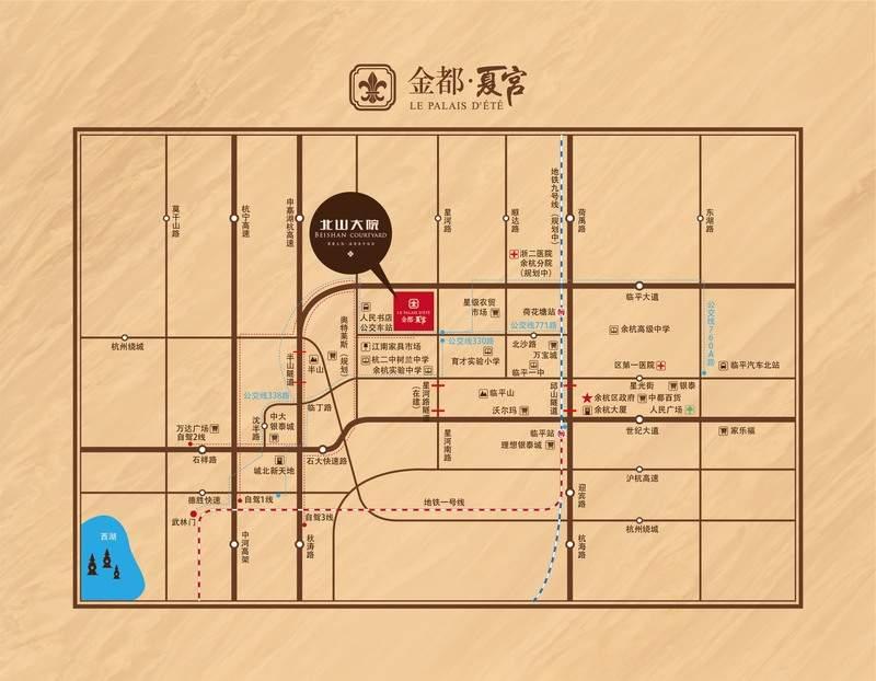 金都夏宫位置图