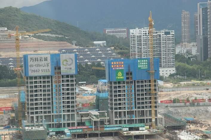 万科云城实景图