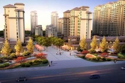 领秀新城实景图