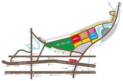 金恒星城市综合体位置图