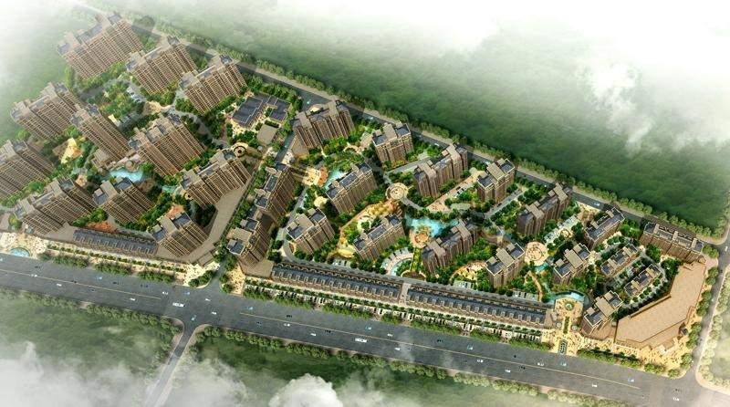 建阳万晟星城位置图