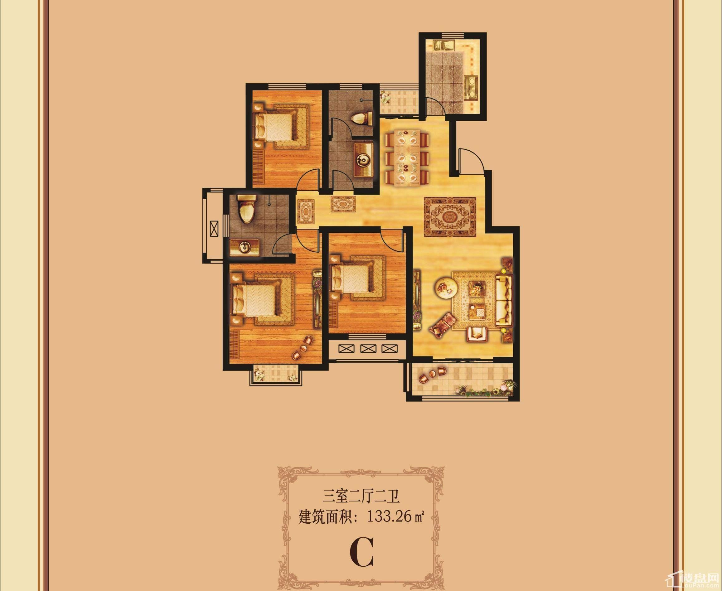 奥兰天和家园户型图