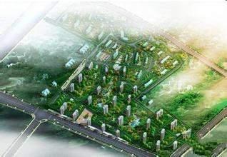 沁水新城效果图
