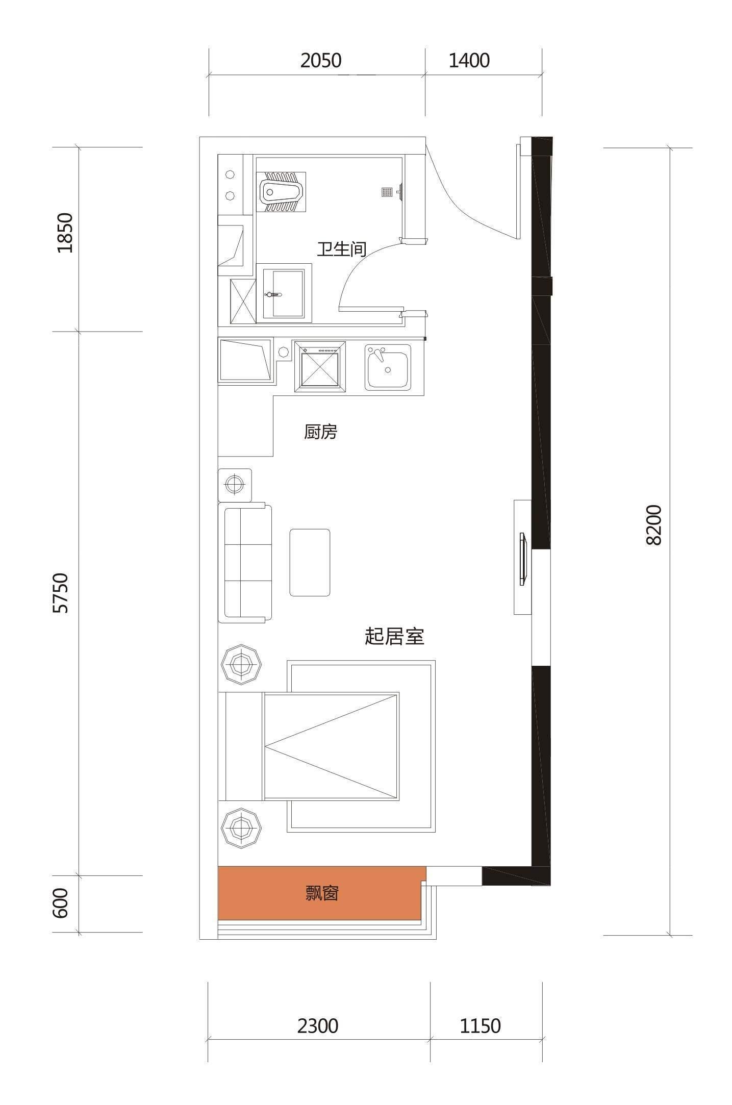 6#楼21/22户型