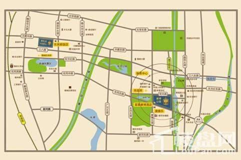 康博公馆公园里位置图
