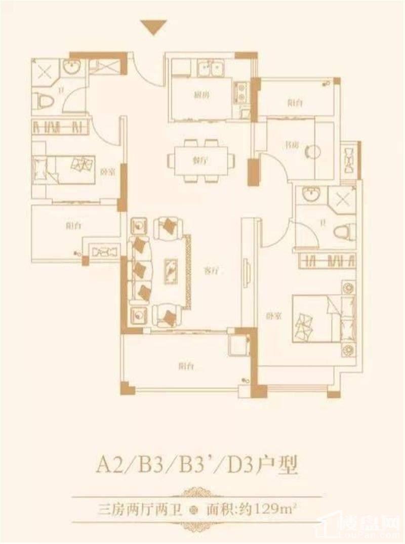 A2 B3 D3户型