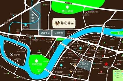 尚城壹品位置图