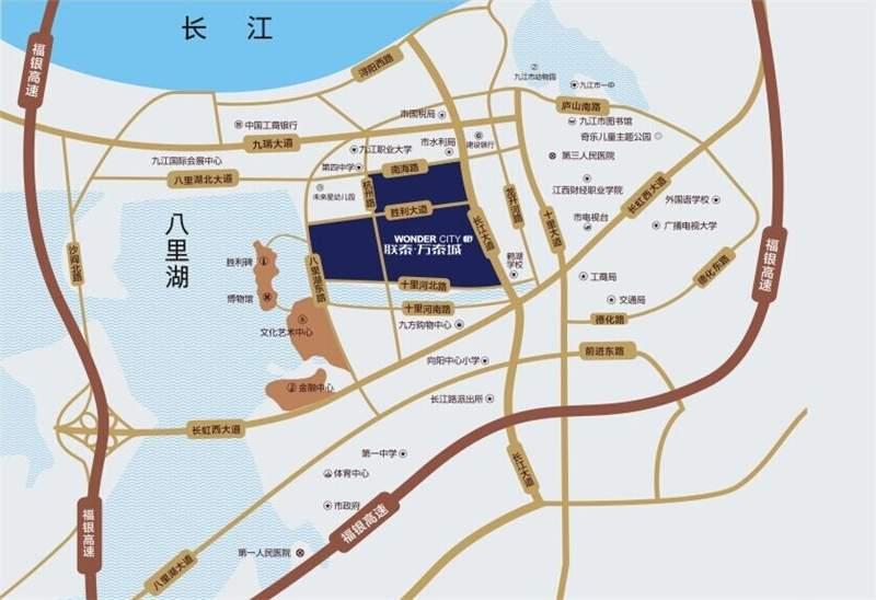 联泰万泰城位置图