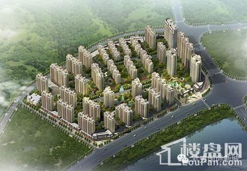 建阳武夷国际新城效果图