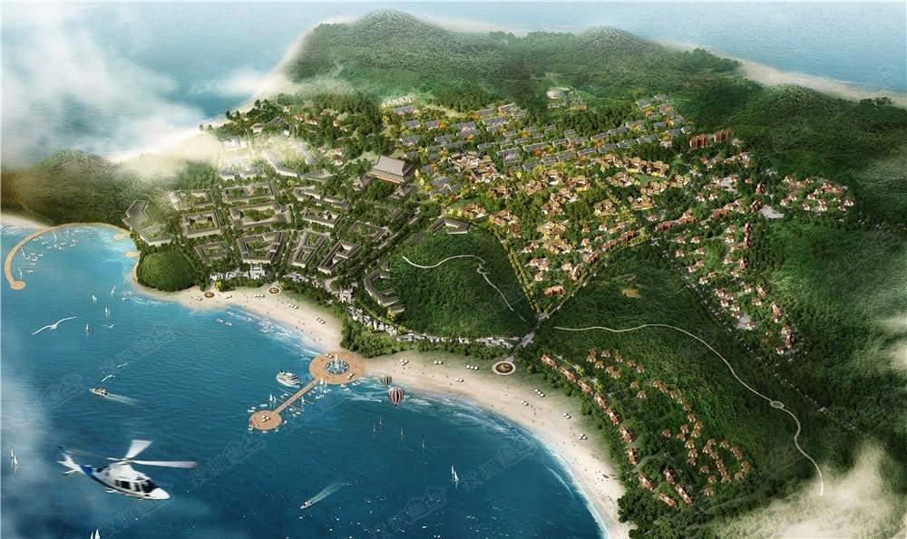 长岛国际度假区效果图