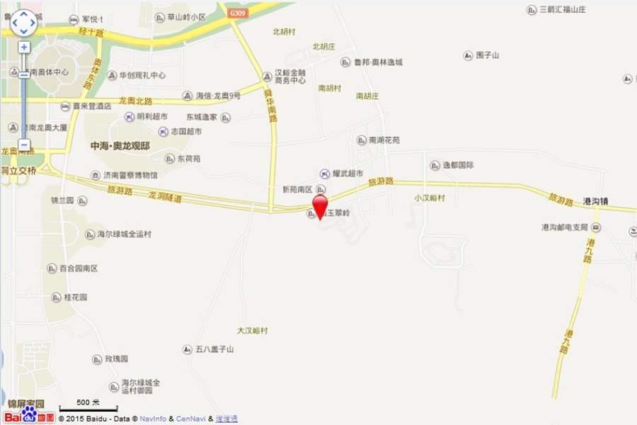 三盛·国际公园位置图