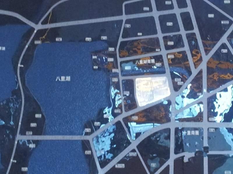 保利中航城位置图