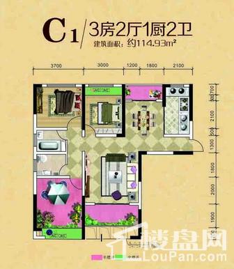 百弘·学府城户型图
